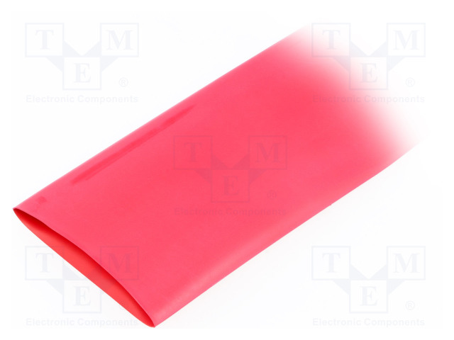 ALPHA WIRE FIT2212IN RED 5X4 FT - Heat shrink sleeve