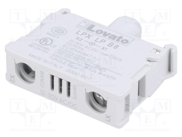 LOVATO ELECTRIC LPXLPB8 - Alavalaistu elementti