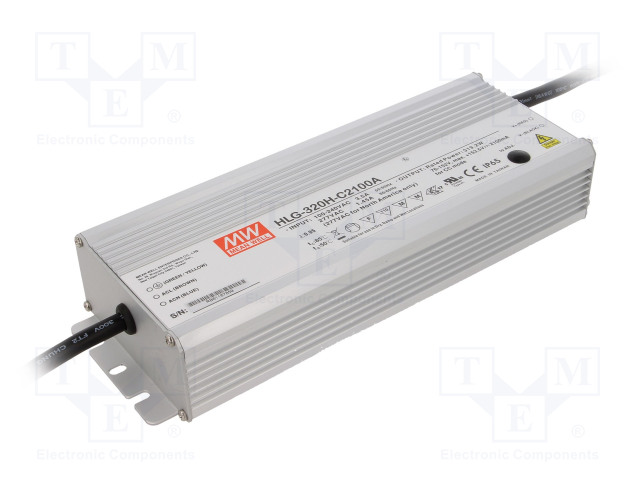 MEAN WELL HLG-320H-C2100A - Power supply: switched-mode
