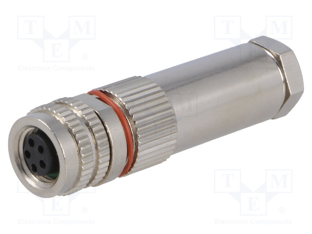 BULGIN PXMBNI08FBF05BSC - Connector: M8