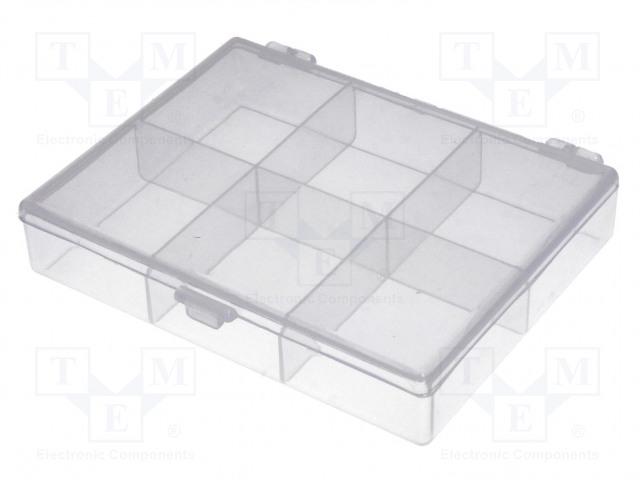 NEWBRAND NB-BOX6 - Säiliö: osastoihin varustettu laatikko