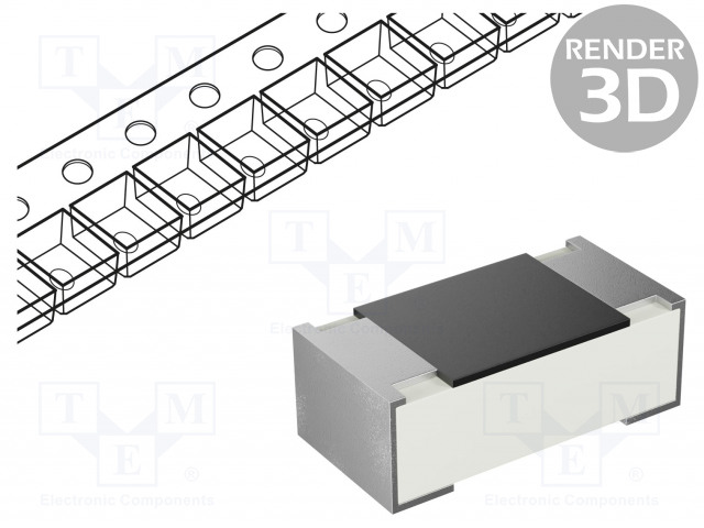 YAGEO RC0402JR-070RL - Resistor: thick film