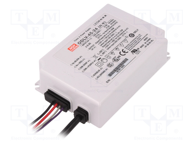 MEAN WELL ODLV-45-24 - Power supply: switched-mode