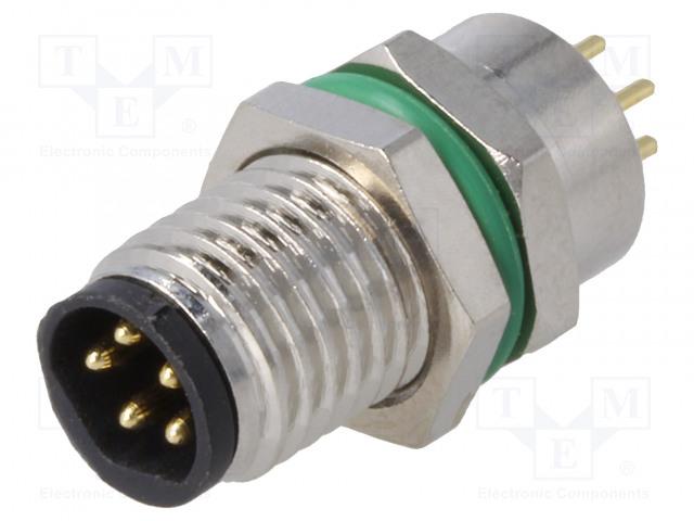 BULGIN PXMBNI08RPM05BPC - Connettore: M8