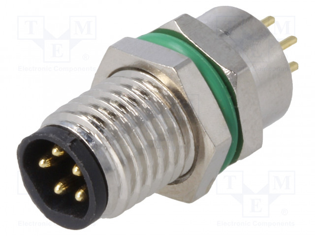 BULGIN PXMBNI08RPM05BPC - Connector: M8