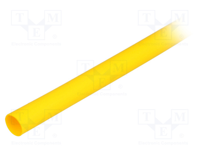 ALPHA WIRE FIT2211/4 YELLOW 25X4 FT - Heat shrink sleeve