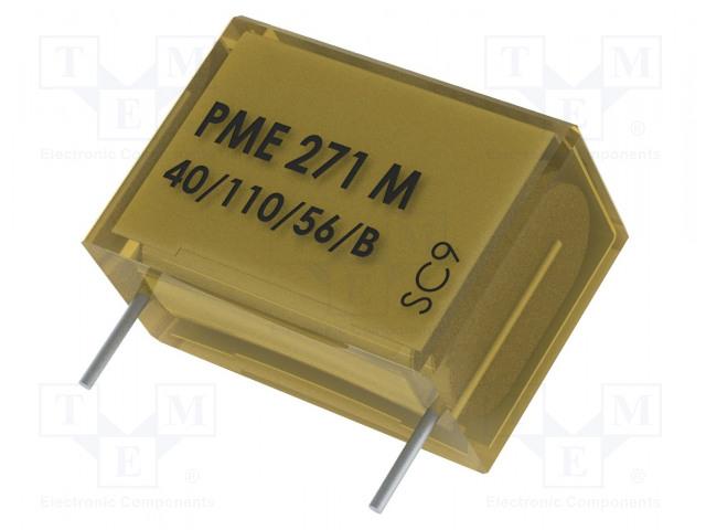 KEMET PME271MD6100MR30 - Capacitor: paper