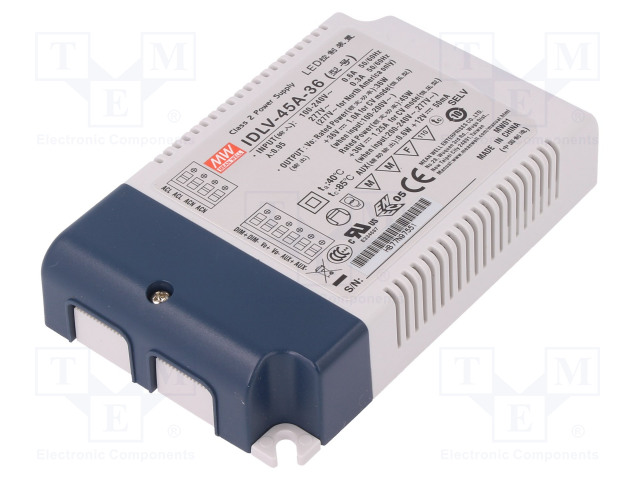 MEAN WELL IDLV-45A-36 - Power supply: switched-mode