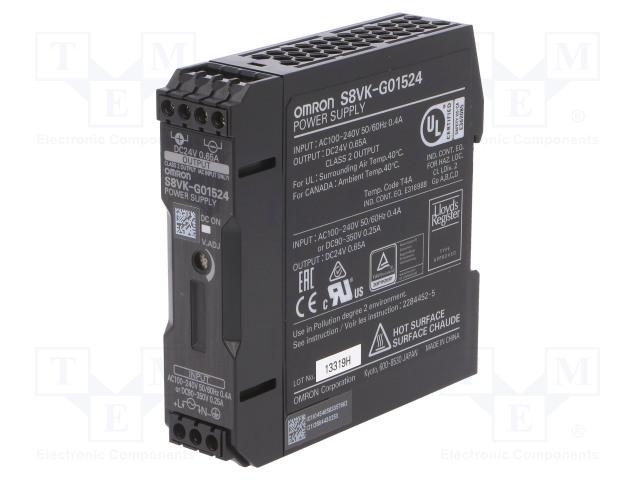 OMRON S8VK-G01524 - Napájecí zdroj: spínaný