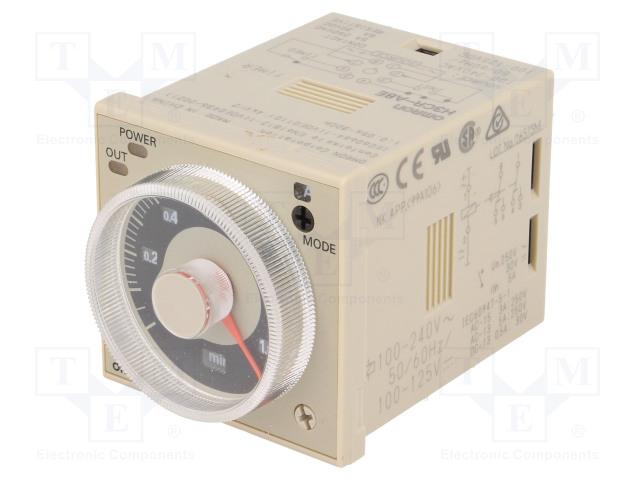 OMRON H3CR-A8E 100-240AC/100-125DC - Časové relé