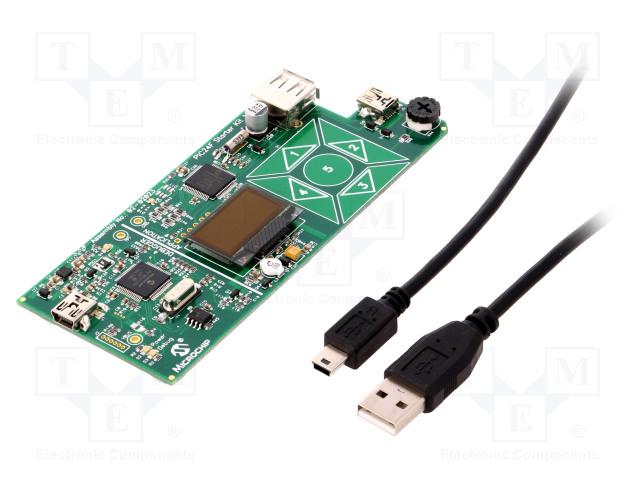 MICROCHIP TECHNOLOGY DM240011 - Výv.kit: Microchip PIC