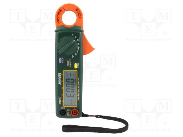 Электрические Тестеры, Датчики Тока Цифровые токоизмерительные клещи AC/DC; I DC: 4/30А; ВDC: 400В Фото 1.