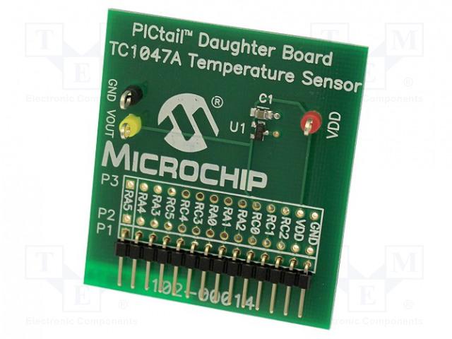 MICROCHIP TECHNOLOGY TC1047ADM-PICTL - Výv.kit: Microchip PIC