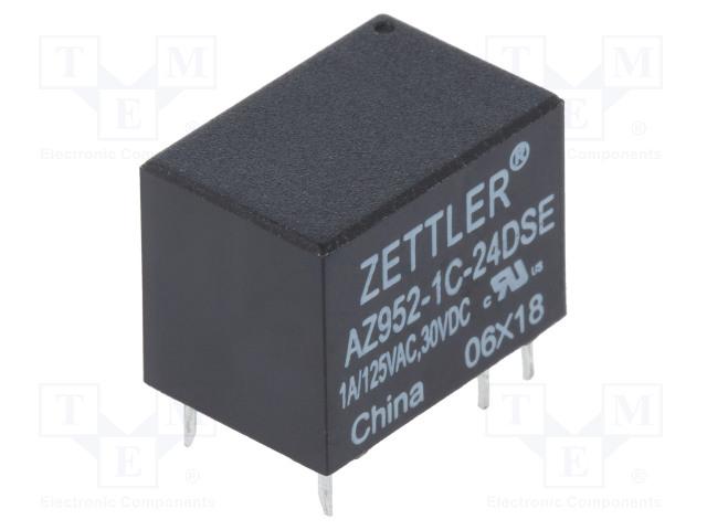 ZETTLER AZ952-1C-24DSE - Relay: electromagnetic