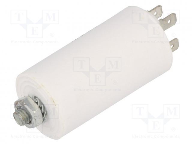 SR PASSIVES CBB60E-4/450 - Kondensator: für Motoren, Betrieb