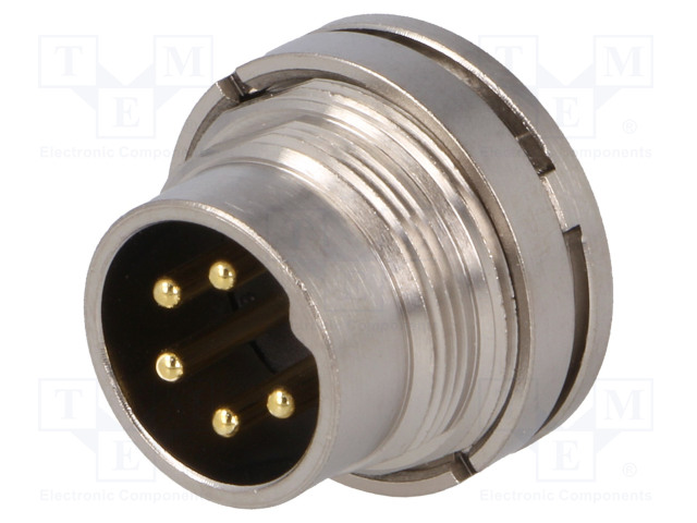BULGIN PXMBNI16RPM05ASC - Connector: M16