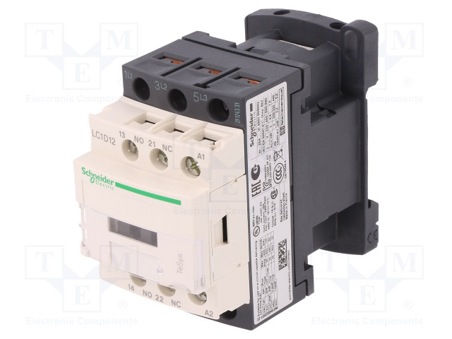 SCHNEIDER ELECTRIC LC1D12U7 - Επαφέας: 3 πόλων