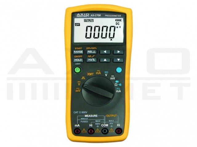 AX-C708 AXIOMET, Multimetr a kalibrátor