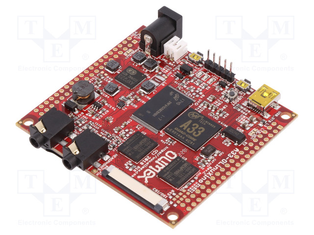 OLIMEX A33-OLINUXINO-4GB - Jednodeskový počítač