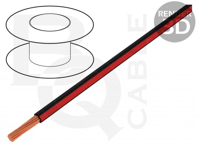 LGY0.35-BK/RD BQ CABLE, Vodič
