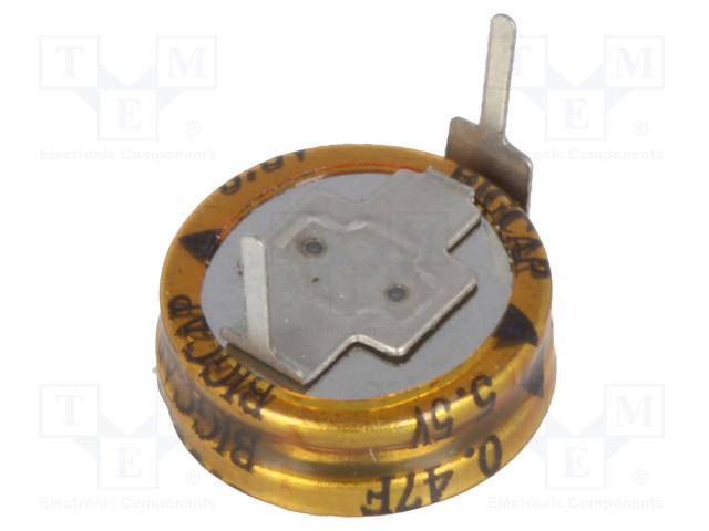 BIGCAP BCE005R5H474FS - Kondenzátor: elektrolytický