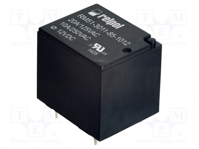 RELPOL RM51-3011-85-1012 - Relé: elektromagnetické
