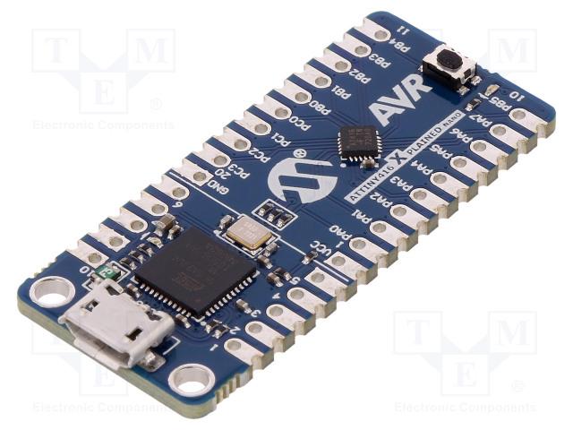 MICROCHIP TECHNOLOGY ATTINY416-XNANO - Výv.kit: Microchip AVR