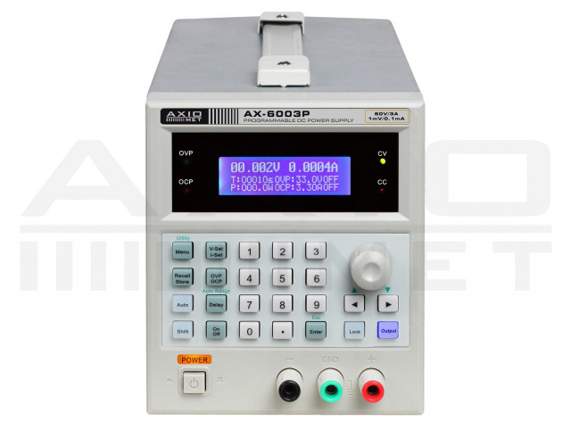 AX-6003P AXIOMET, Netzteil