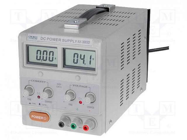AXIOMET AX-3005D - Alimentator: de laborator