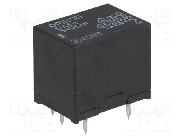 OMRON G5LE-1 5VDC - Relé: elektromagnetické