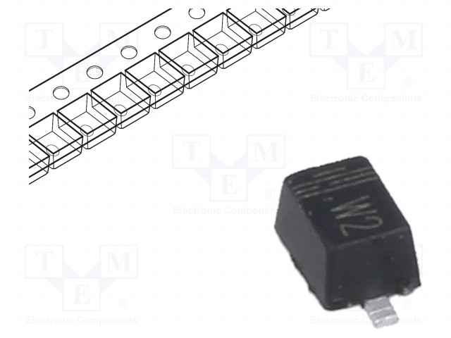 CDIL 1N4148WS - Diode: rectifying