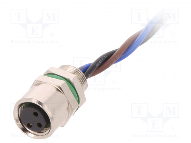 BULGIN PXMBNI08FPF03AFL001 - Connector: M8