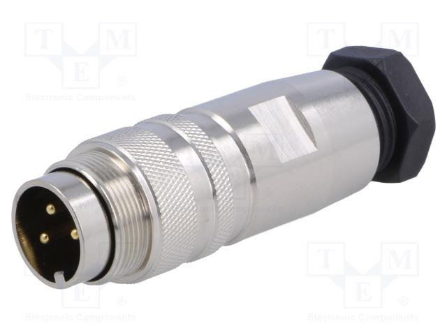 BULGIN PXMBNI16FIM03ASC - Connector: M16