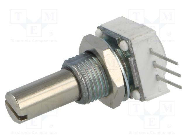 VISHAY 14910F0GJSX10501KA - Potenciometr: axiální