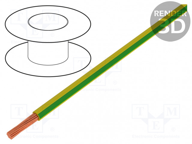 BQ CABLE LGY0.75/25-YL/GR - Wire