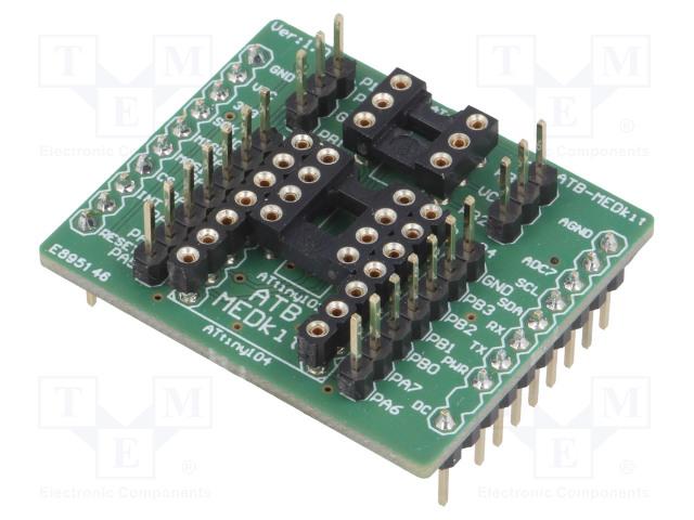 ATNEL ATB-MEDKIT - Kehityspak: Microchip AVR