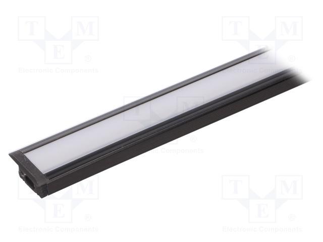 FIX&FASTEN FIX-GLG2-B-1M-SET - Profil für LED Module