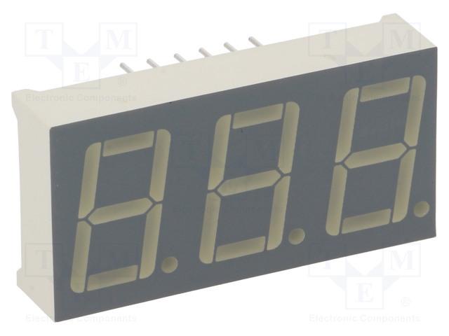 KINGBRIGHT ELECTRONIC BC56-12EWA - Displej: LED