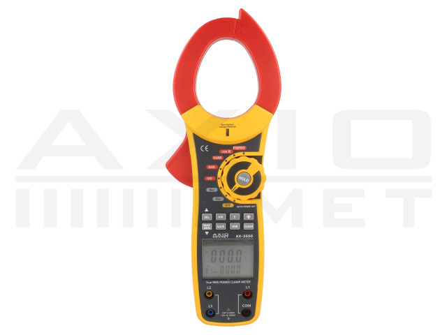 AX-3550 AXIOMET, Power clamp meter