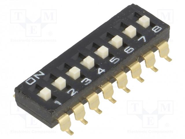 OMRON OCB A6S-8104-H - Přepínač: DIP-SWITCH