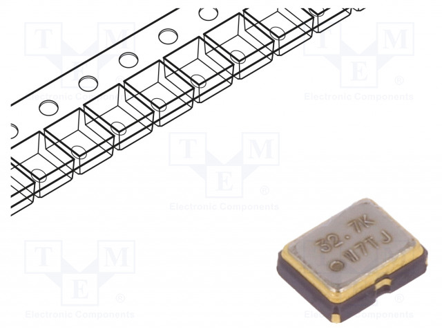 IQD FREQUENCY PRODUCTS LFSPXO009686CUTT - Generator: quartz