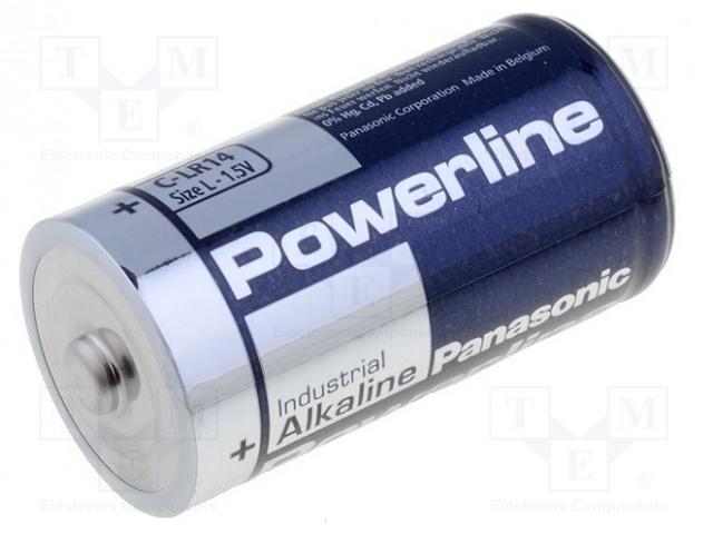 Bat Lr14 Panasonic Battery Alkaline 1 5v C None Non