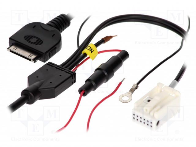 4CARMEDIA AUX-AUDI.01-IPOD - Aux-Adapter