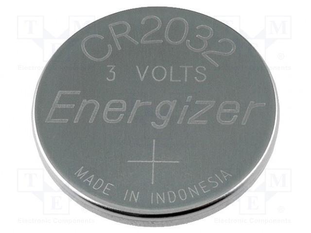 ENERGIZER 628745 CR2032 BULK - Battery: lithium