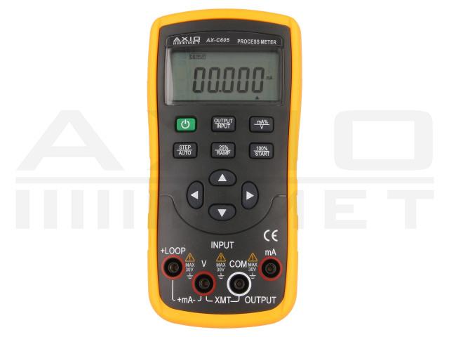 AX-C605 AXIOMET, Kalibrátor proudové smyčky