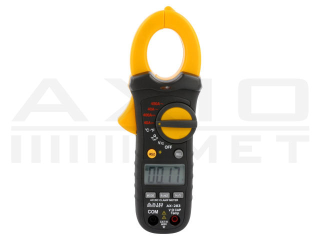 AX-203 AXIOMET, Meters and Clamp Probes