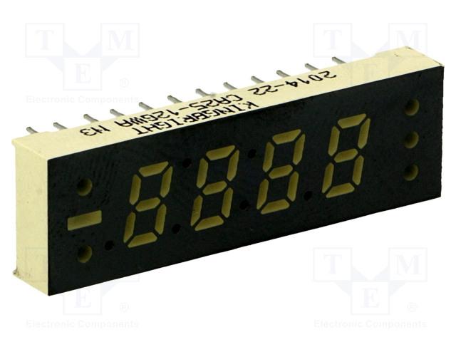 KINGBRIGHT ELECTRONIC CA25-12GWA - Displej: LED