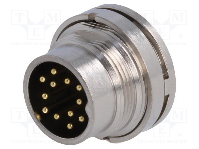 BULGIN PXMBNI16RPM12ASCM16 - Connector: M16