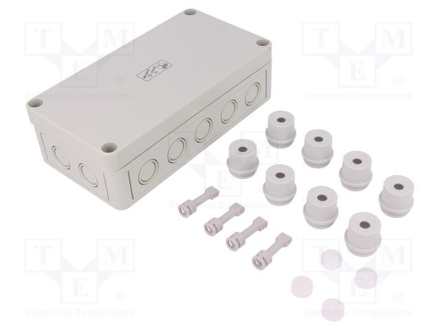 SPELSBERG RKK 4/18-18X4² - Kryt: propojovací krabice
