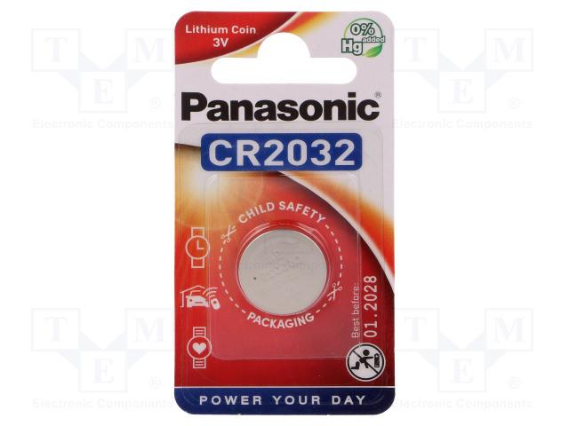 PANASONIC 5019068085138 - Battery: lithium